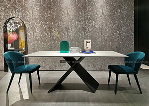 巖板餐桌-佛羅倫薩