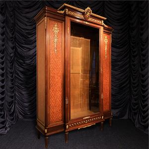 梵尼斯歐洲西洋古董家具法國林克Linke大師簽名大型展示柜書柜