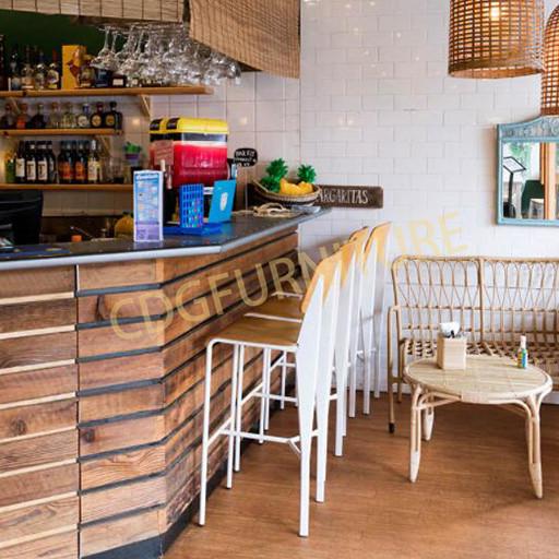 甜品店 奶茶店 咖啡店 蛋糕面包店高吧椅 711-H65-STW