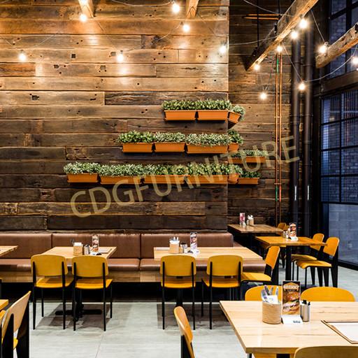 品牌连锁餐厅 中式西式餐厅两用 著名设计款式餐椅 711-H45-STW
