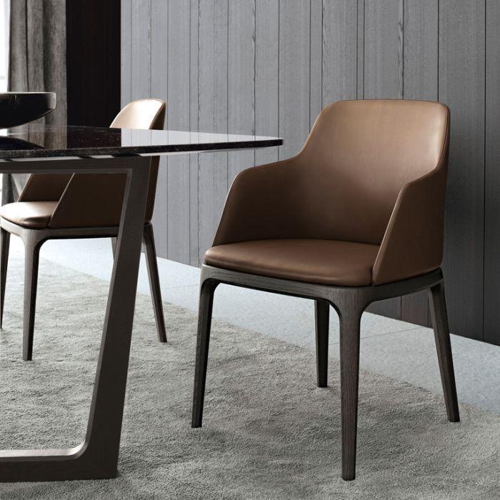 北欧Ins餐椅轻奢网红靠背椅凳子餐厅简约懒人餐椅 C202