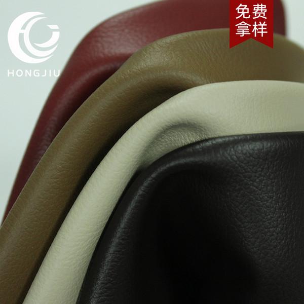 现货批发质保五年耐刮耐磨超柔无溶剂牛皮绒仿真家具沙发皮革面料