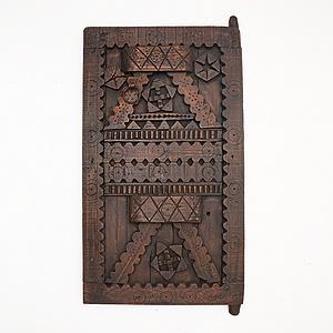 非洲進口實木裝飾門純手工雕刻(多款)