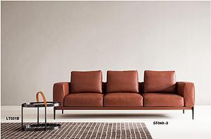 意式三人沙發