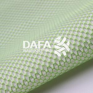 3D網布DF044Y 三明治網眼布網孔透氣 應用于床墊箱包鞋材服裝汽車摩托