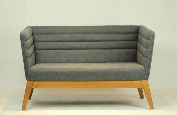 北欧办公沙发餐厅会客洽谈接待室商务真皮艺办公室沙发 S413-2