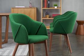轻奢餐椅商用餐厅椅子北欧布艺凳子靠背简约极简现代餐椅 C426