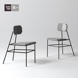 現代簡約家用靠背椅酒店樣板房休閑椅書桌椅商業餐廳家具