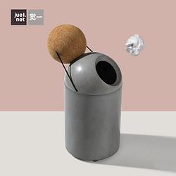 北歐創意桌面帶蓋小號迷你垃圾桶可愛客廳臥室客廳垃圾收納桶
