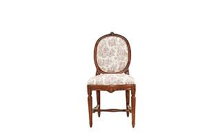 LI-SH20-22-269 欧式 实木 复古 做旧 餐椅