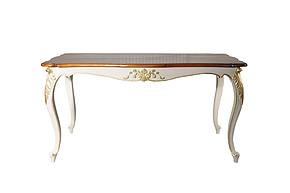 LI-SH20-25-186 欧式 实木 复古 长餐桌