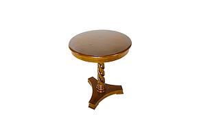 LI-SH20-13-252 欧式 实木 小圆桌