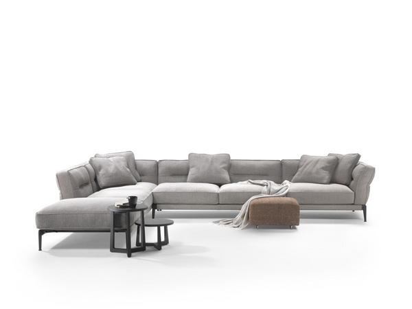 意式极简客厅沙发组合