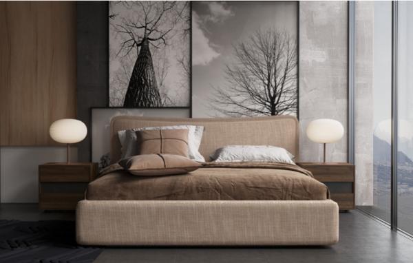 现代简约软床