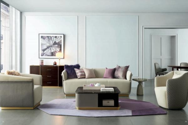 斯朗德现代简约三人沙发