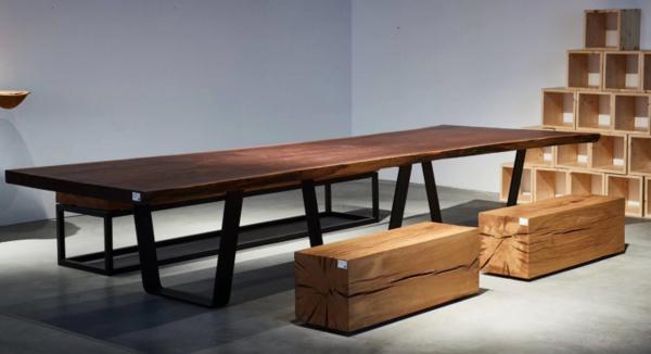 实木大板桌长桌