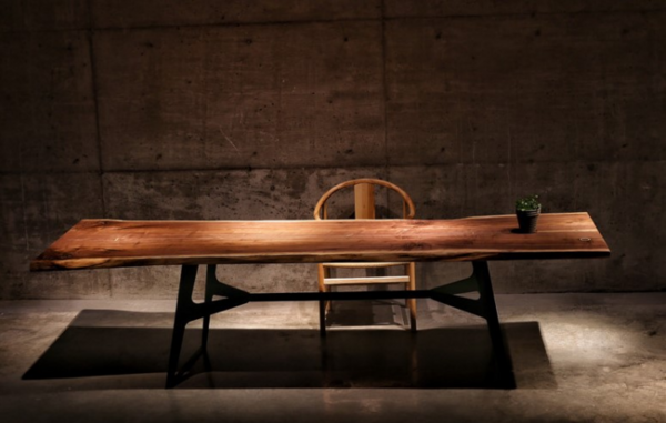 美国黑胡桃大板桌