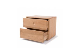 今制 現代中式 悅潤實木床頭柜