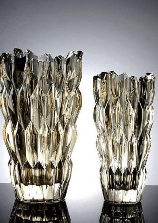 菱镜花瓶 琥珀