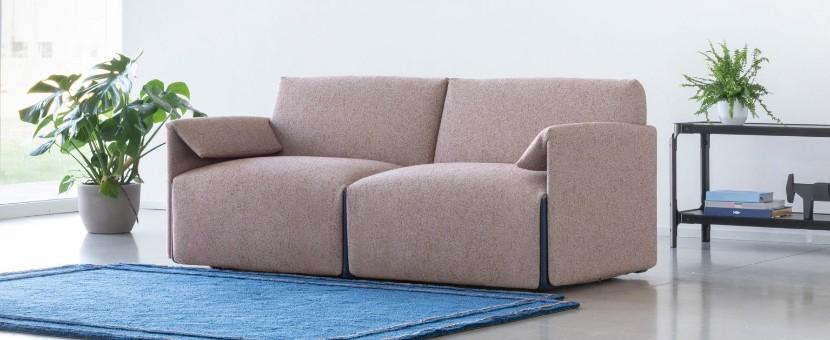 Stefan Diez creats costume sofa system---Magis