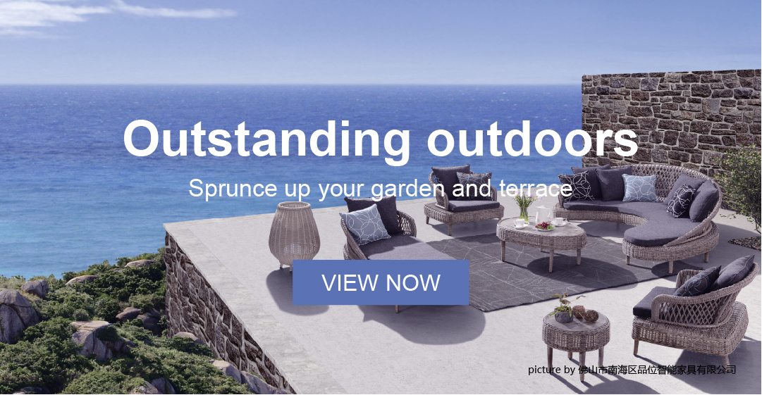 Outdoor Furniture Special Report which contains outdoor sofa, table and chair, and outdoor bed.