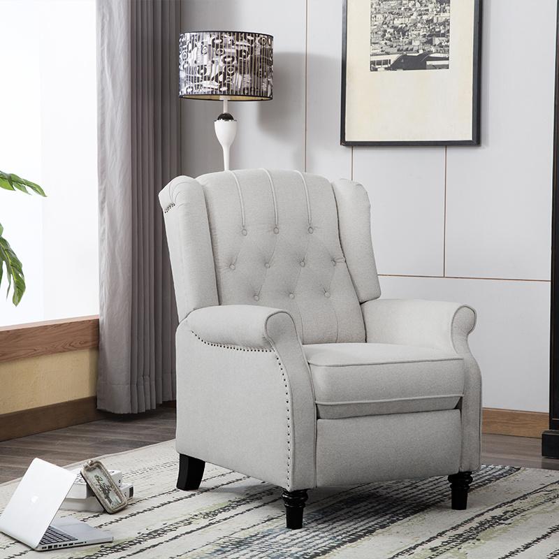 中源家居美式轻奢布艺沙发