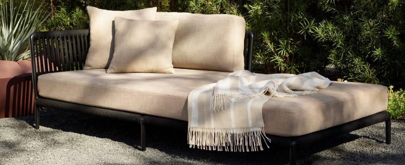 Vincent Van Duysen designs Otti modular outdoor seating  for Sutherland Furniture