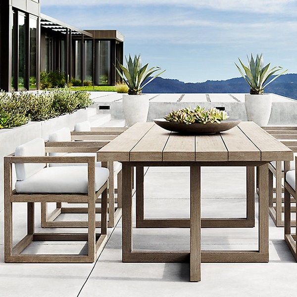柚木定制餐桌椅