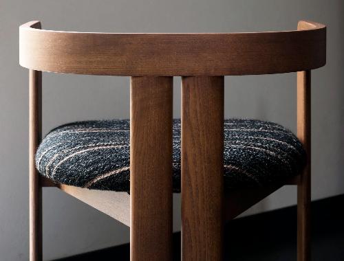 Tobia Scarpa designs Pigreco chair for Tacchini