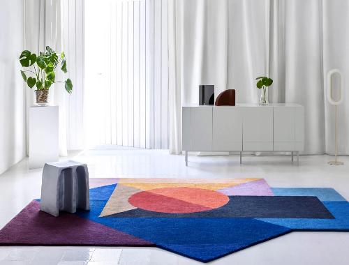 Daria Zinovatnaya designs Zoe rug collection for Gan