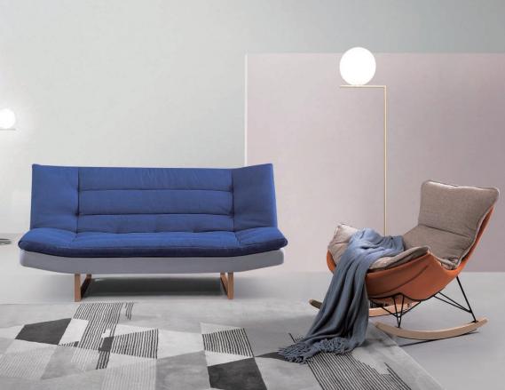 双人可折叠沙发
