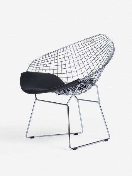 xs-114北欧镂空铁丝椅